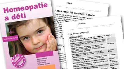 kniha Homeopatie a děti